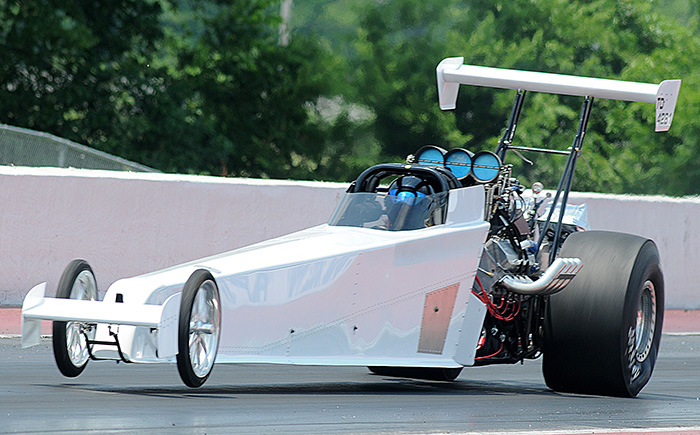 Bryan Hawker dragster
